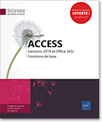 Access (versions 2019 et Office 365) - Fonctions de base