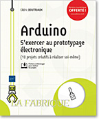 Arduino, livre maker, makers, carte electronique, carte électronique