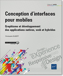 Conception d'interfaces pour mobiles - Graphisme et développement des applications natives, web et hybrides, RWD , Responsive web Design , UX Design , User eXperience , ergonomie