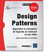 Design Patterns, livre design pattern, jeu video, jeu vidéo, IA, intelligence artificielle, patron de conception, UML