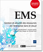 EMS, livre sécurité, securite, enterprise mobility suite, security, microsoft, azure ad, intune, azure information protection, ata, advanced threat analytics, active directory, cloud app discovery