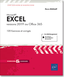 Excel - versions 2019 ou Office 365, Microsoft , tableur , classeur , feuille de calcul , formule , graphique , tableau croisé , audit , scénario , solveur , liste , statistique , excel 19 , slicer , sparkline , Office 2019 , Office 19 , excel 365 , Excel Office 365