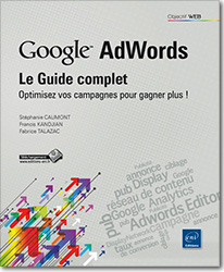 Google AdWords : le Guide complet - Optimisez vos campagnes pour gagner plus !, Publicité , pub , campagne , ciblage , conversion , Adwords Editor , Google Display Network , taux de conversion , annonce , Google Analytics , Display , réseau de contenu