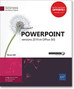 PowerPoint, Microsoft, PréAO, diaporama, diapositive, album photos, organigramme, diagramme, application,  Office 2019, Office 19, PowerPoint2019, Powerpoint19, PP, livre numérique, livres numériques, e-book, ebook, livre électronique, livres électroniques, Powerpoint 19, LNRB19POW