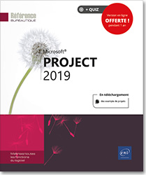 Project 2019, Microsoft , Gestion de projet , diagramme de Gantt , Pert , cash,flow , planification , msproject , coût