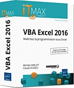 VBA Excel 2016, microsoft,  macro-commande, macro commande, office, api, excel vba, excel 2016, office 2016, livre VBA, objet, langage objet, programmation, macro, macros, Visual Basic, VB, Office 2016, vba excel, vba excel 2016