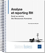 Analyse et reporting RH - Excel au service des Ressources Humaines