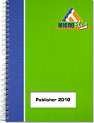 Publisher 2010, Microsoft, PAO, mise en page, composition, Publisher2010, Publisher10, Office 2010, Office 10