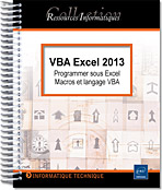 VBA Excel 2013, microsoft,  macro-commande, macro commande, office, api, excel vba, excel 2013, office 2013