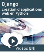 Django - Introduction à la création d'applications web en Python