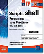 livre script - livre shell - livre linux - livre unix - sh - ksh - bash - bourne - korn - builtin - awk - sed