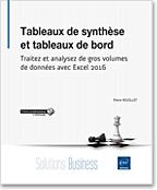 Tableaux de synthèse et tableaux de bord, Microsoft, synthèse, tableaux de bord, tableaux de données, importation de données, data, powerpivot, power pivot