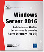 Windows Server 2016, Microsoft, Server, AD, DNS, domaine, OU, GPMC, RsoP, d�l�gation, d�ploiement, strat�gie,  servicesDNS, OUs, strat�gie de groupe, serveur AD CS, serveur AD RMS, serveur AD FS, AD CS, AD RMS, AD FS, SCEP, OCSP