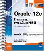 Oracle 12c, livre oracle, sql ddl, slq dml, ts0048