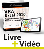 VBA Excel 2010, Microsoft, visual basic, macro-commande, macro commande, macro, office, api, excel vba, video, videos, vidéos, tuto, tutos, tutorial, tutoriel, tutoriels